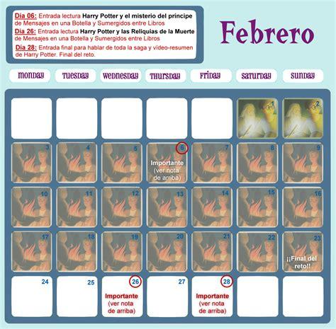 mensajes subliminales harry potter 7 mensajes en una botella calendario reto relectura harry