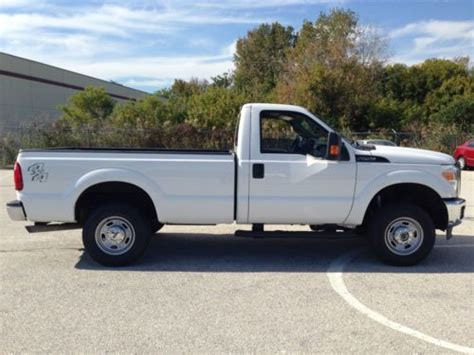 F250 Single Cab Bed by Sell Used 2011 Ford F250 Xl 4x4 Regular Cab 8ft Bed 5 4