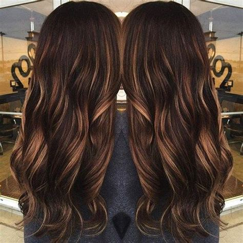 chocolate hair color with caramel highlights 68 caramel highlights trend that you should try