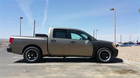 Lowering My Nissan Titan Cjdracing Performancetrucks