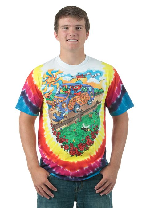 Gamis Tiedye 1 grateful dead summer tour tie dye t shirt