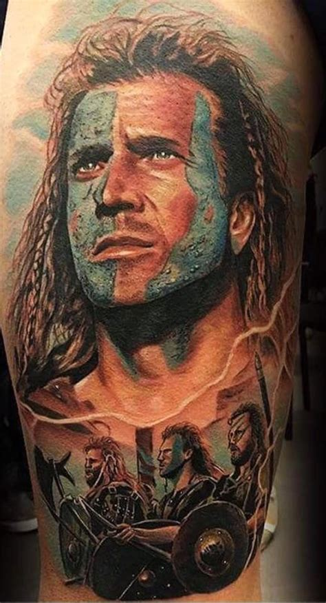braveheart tattoo designs william wallace by nakata limited availability at