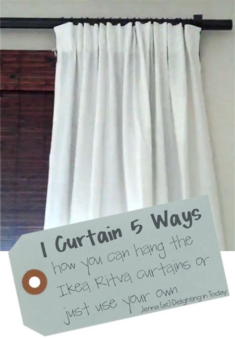 how to hang ikea curtains pinterest the world s catalog of ideas