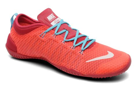 nike wmns free 1 0 cross bionic sport shoes in orange at