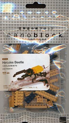 Dijamin Nanoblock Hercules Beetle ナノブロック ist 001 ヘラクレスオオカブト オモチャのとらや web通販