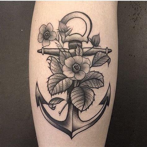 tattoo old school feminina tatuagem de 194 ncora masculina e feminina com flores e no