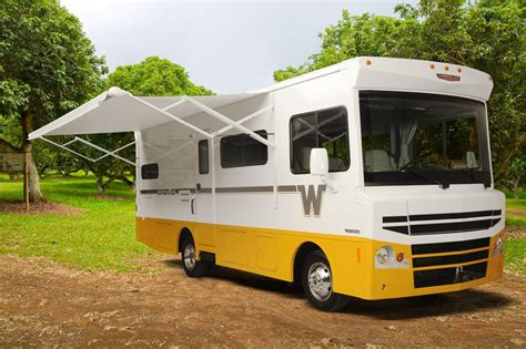 motorhome awnings direct winnebago brave the brow is back rv lovers direct