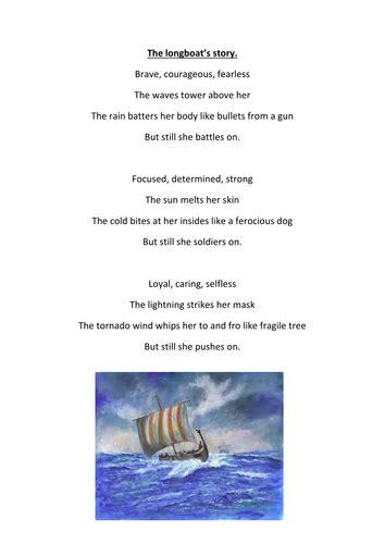 viking boats ks1 poem about a viking longboat by grahamespin teaching