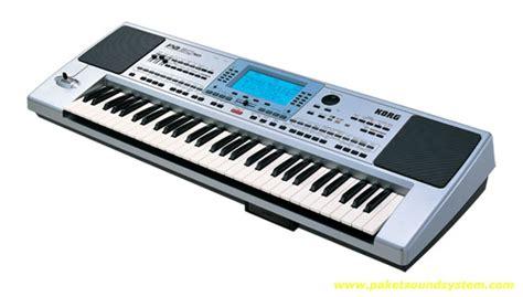 Keyboard Korg Kecil keyboard arranger professional korg pa50sd paket sound