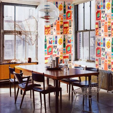 funky wallpaper home decor funky wallpaper home decor 28 add quirky details to freshen boring dining rooms