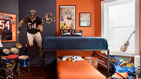 sports bedrooms get athletic with 15 sports bedroom ideas home design lover