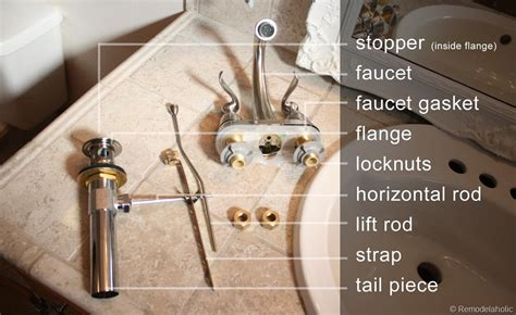 how to install a bathroom sink faucet bathroom faucet install