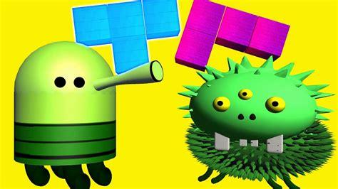Doodle Jump Vs Tetris 3d Animated Mashup