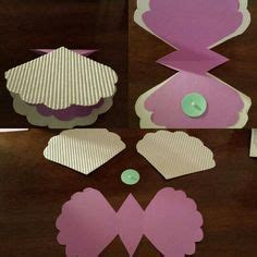 shell shaped pop up card template mermaid template for invitation search