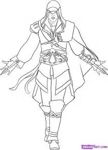 draw ezio step by step drawing sheets added by dawn