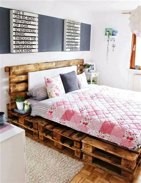 pallet bed ideas 30 diy pallet ideas for your home page 2 of 3 101