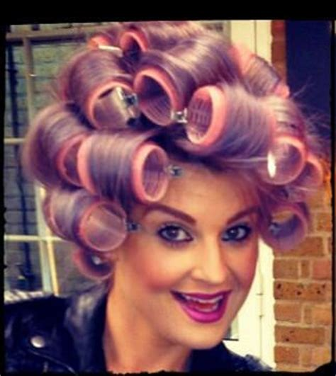 italian domme in hair curlers italian domme in hair curlers laura polina in hair