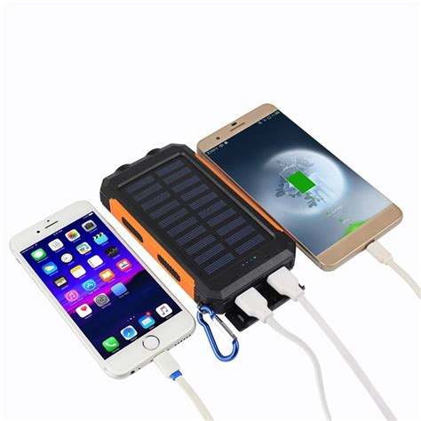 Led Power Bank china bright led solar power bank with compass manufacturers