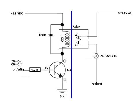 transistor emergency turn relay simple and safe solution to a power with arduino or pc electrical