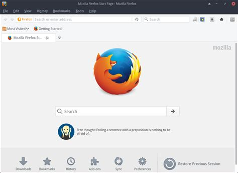firefox themes linux mint firefox gtk native theme for linux by foxhead128 on