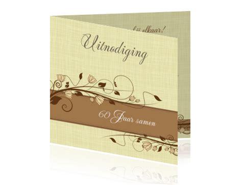 25 jaar getrouwd diamant 60 jaar getrouwd uitnodiging kaart maken voor jubileum