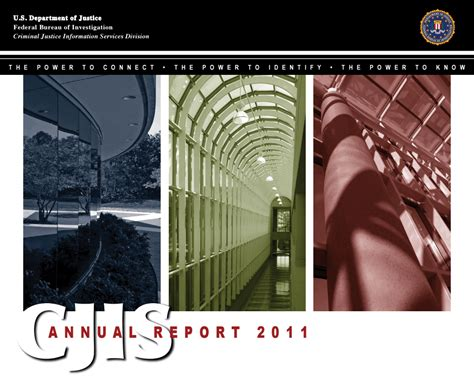 Cjis Search 2011 Cjis Annual Report Fbi
