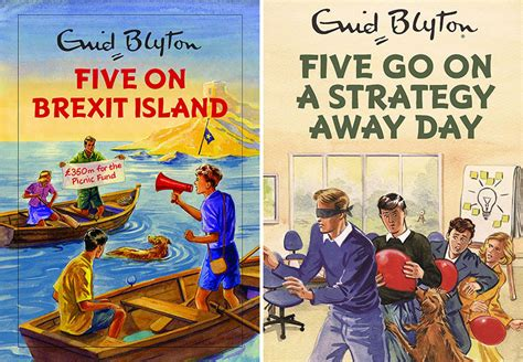 Five Books by Spoof Enid Blyton Five Books Coming Soon Utility