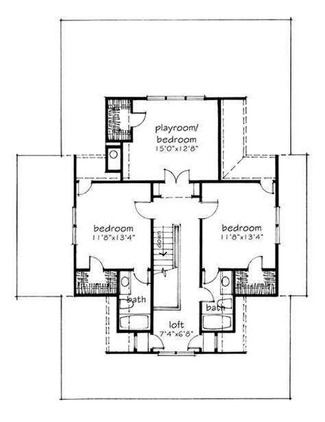 four gables print southern living house plans house plan of the month four gables