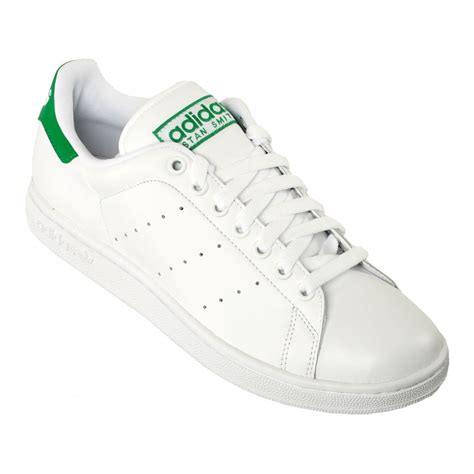 Adidas Stan Smith White adidas adidas stan smith 2 white green b13 g17079 mens trainers adidas from brands uk uk