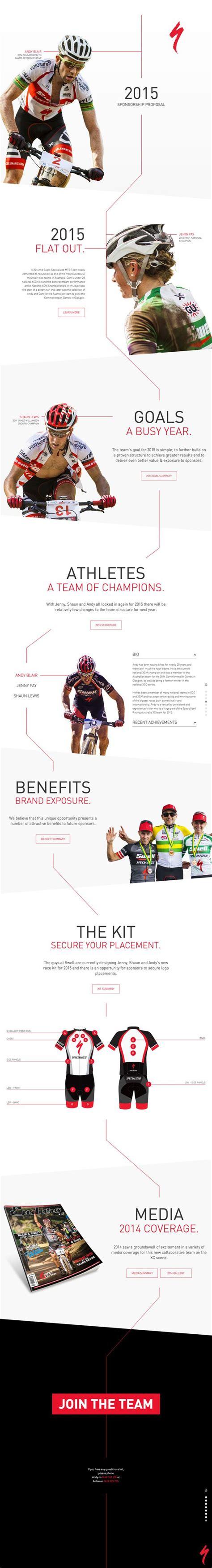 layout proposal sponsorship pinterest the world s catalog of ideas