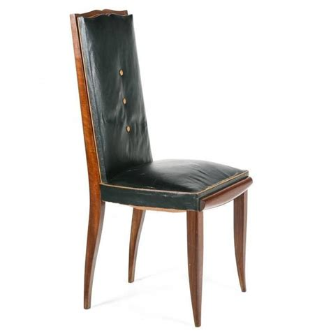 Deco Dining Chairs by Set Of Six Deco Dining Chairs Circa 1930 For