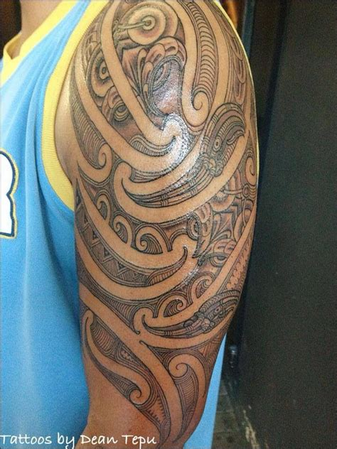 polynesian tattoo queenstown dean tepu custom styled inkers wanganui new zealand