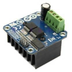 12v 24v 30a rgb led signaalversterker controller voor driver puente h bts7960 43a sumobot de motores