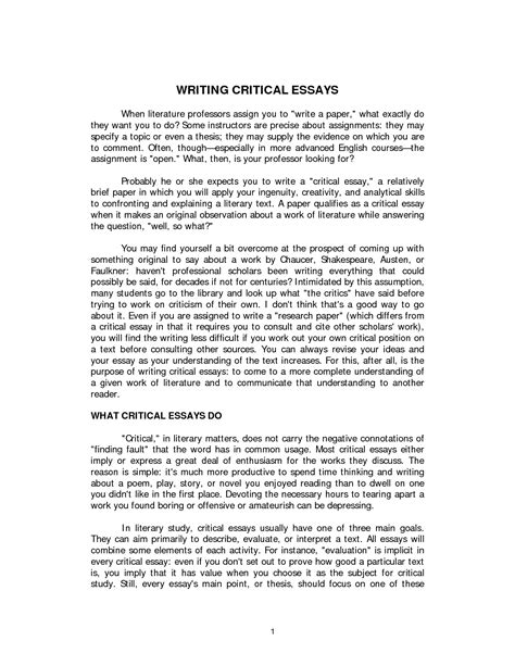 sle of essay sle of descriptive essay about a place 28 images sle