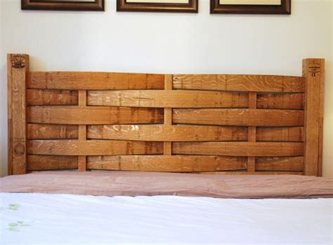 Headboard Made From Wine Barrel Things I Like Pinterest