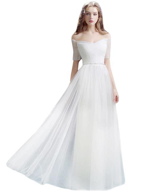 dresses for an evening wedding shoulder sleeve maxi wedding evening dress
