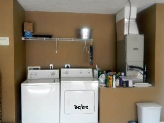 Laundry Room In Garage Decorating Ideas Simple Garage Shelving Ideas For Laundry Room Spotlats