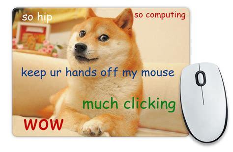 Doge Meme Gifts - doge shibe mouse mat meme reddit gift idea geeky