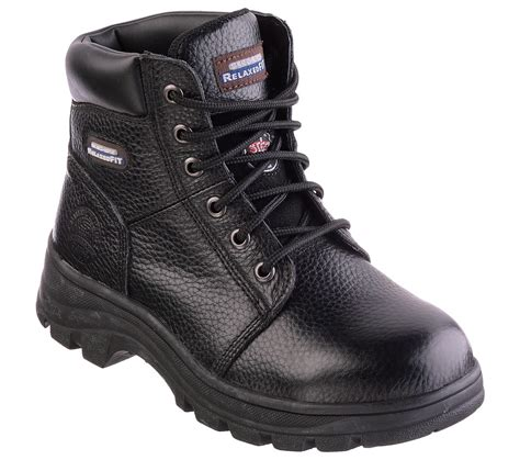 skechers boots s buy skechers work relaxed fit workshire peril st work