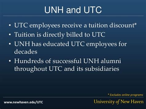 Utc Mba Tuition by Of New United Technologies Partnership