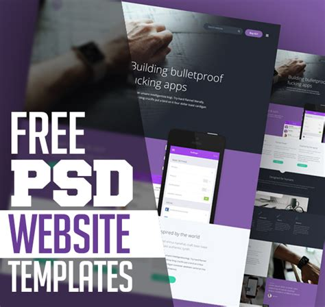 15 Free Responsive Psd Website Templates Freebies Graphic Design Junction Graphic Design Web Templates