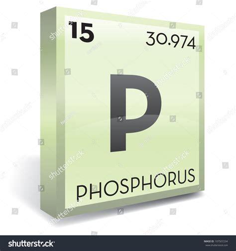 Phosphate Periodic Table by Phosphorus Element Symbol