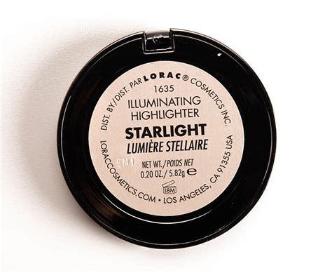 light source illuminating highlighter lorac starlight illuminating highlighter review photos