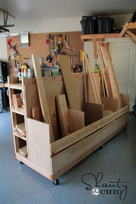 Lumber Storage Garage by Pdf Diy Woodworking Projects Organization