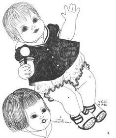 anatomically correct doll pattern 1000 images about vintage cloth doll patterns on