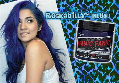 Manic Panic In Jar Rockabilly Blue Classic 10ml manic panic hair dye classic colors semi permanent color