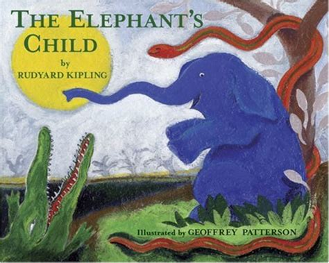 elephant picture books children s books reviews the elephant s child bfk no