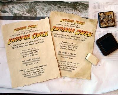 printable indiana jones birthday invitations 15 best images about indiana jones party on pinterest