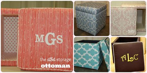 college dorm storage ottoman monogrammed storage ottomans for great looking space