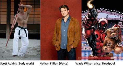 deadpool cast fan cast deadpool v 1 by robertthecomicwriter on